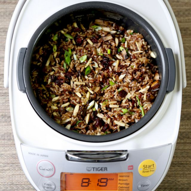 how to cook rice on makoto computerized multi function cooker