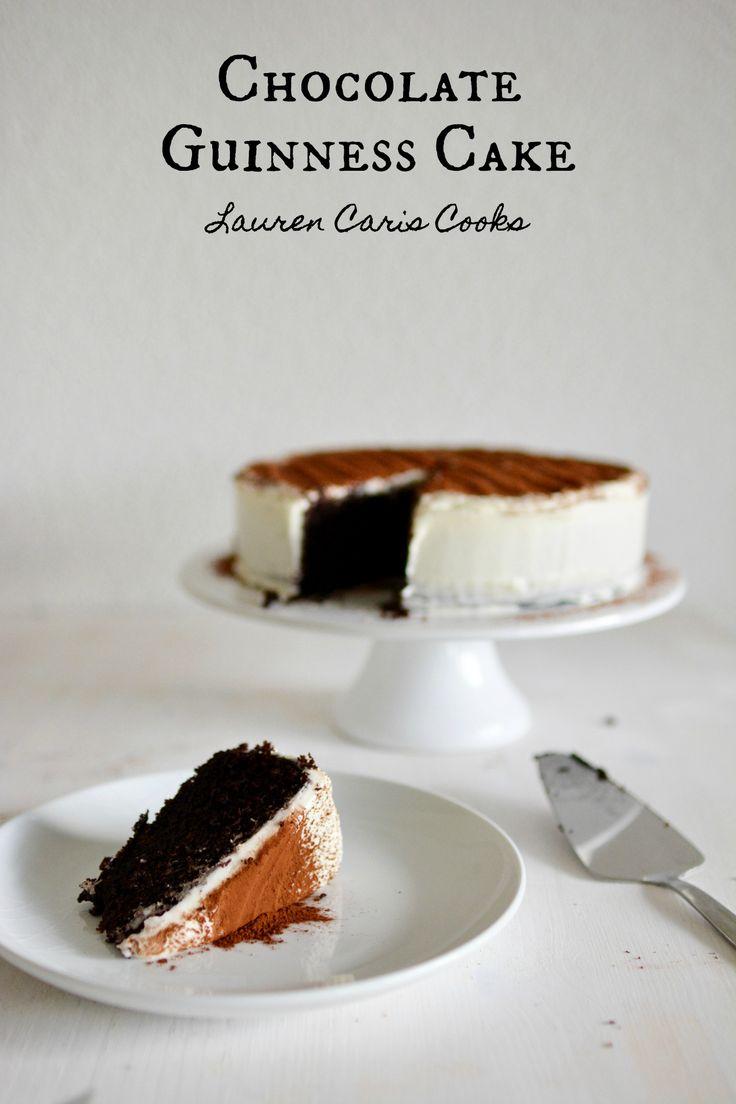 Chocolate Guinness Cake | Lauren Caris Cooks