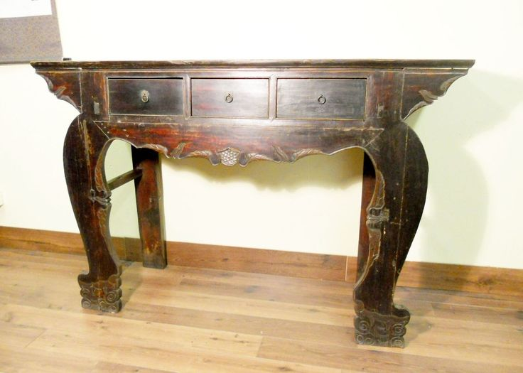 Charming Antique Tall Temple Altar Table (5543), Phoebe Wood, Circa 1800 1949
