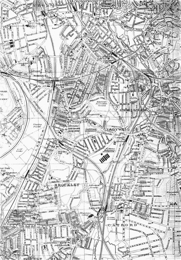 Brockley Map 1917