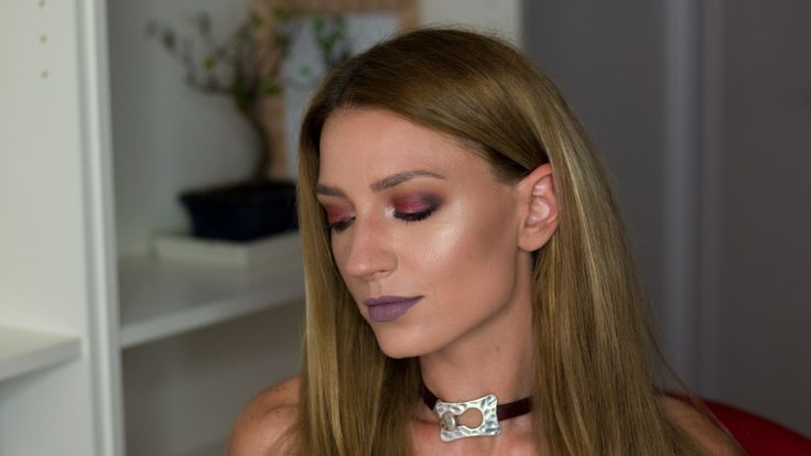Makeup with the pallete Morphe 35F