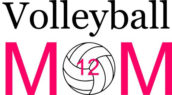 Personalized Adult Volleyball MOM Shirt  by Theperfecttouch4u                                                                                                                                                     More
