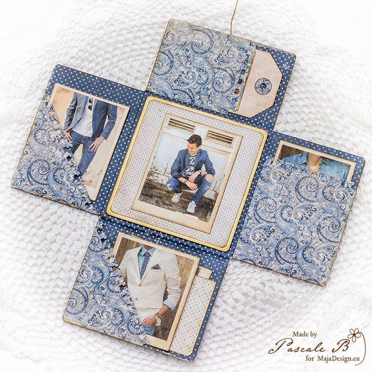 1662 best album scrap images on pinterest mini albums - Fabriquer album photo maison ...