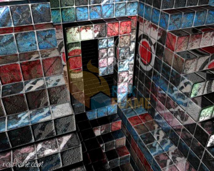 Rox Flame - Wellington New Zealand Artist - Doorway to nothing - 3D Digital Art