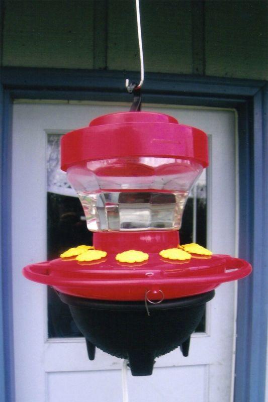 Hummers Heated Delight-heated hummingbird feeder