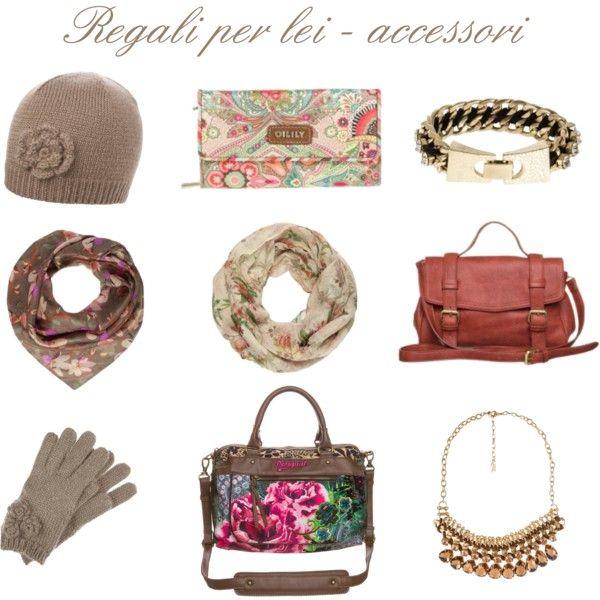 """""""Regali per lei - sotto i 60€"""" by alixia88 on Polyvore"""