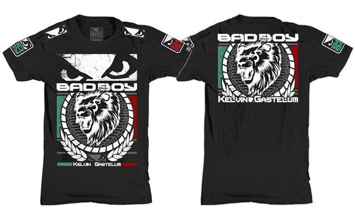 Bad Boy Kelvin Gastelum UFC Fight Night 27 Walkout Shirt - Black at http://www.fighterstyle.com/bad-boy-kelvin-gastelum-ufc-fight-night-27-walkout-shirt/
