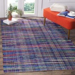 Shop for Safavieh Rag Cotton Rug Bohemian Handmade Blue/ Multi Cotton Rug (8' x 10'). Get free shipping at Overstock.com - Your Online Home Decor Outlet Store! Get 5% in rewards with Club O!