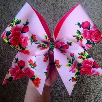 CA Cheetahs Inspired #CEOCP Cheer Bow from ChampionCheerBows on