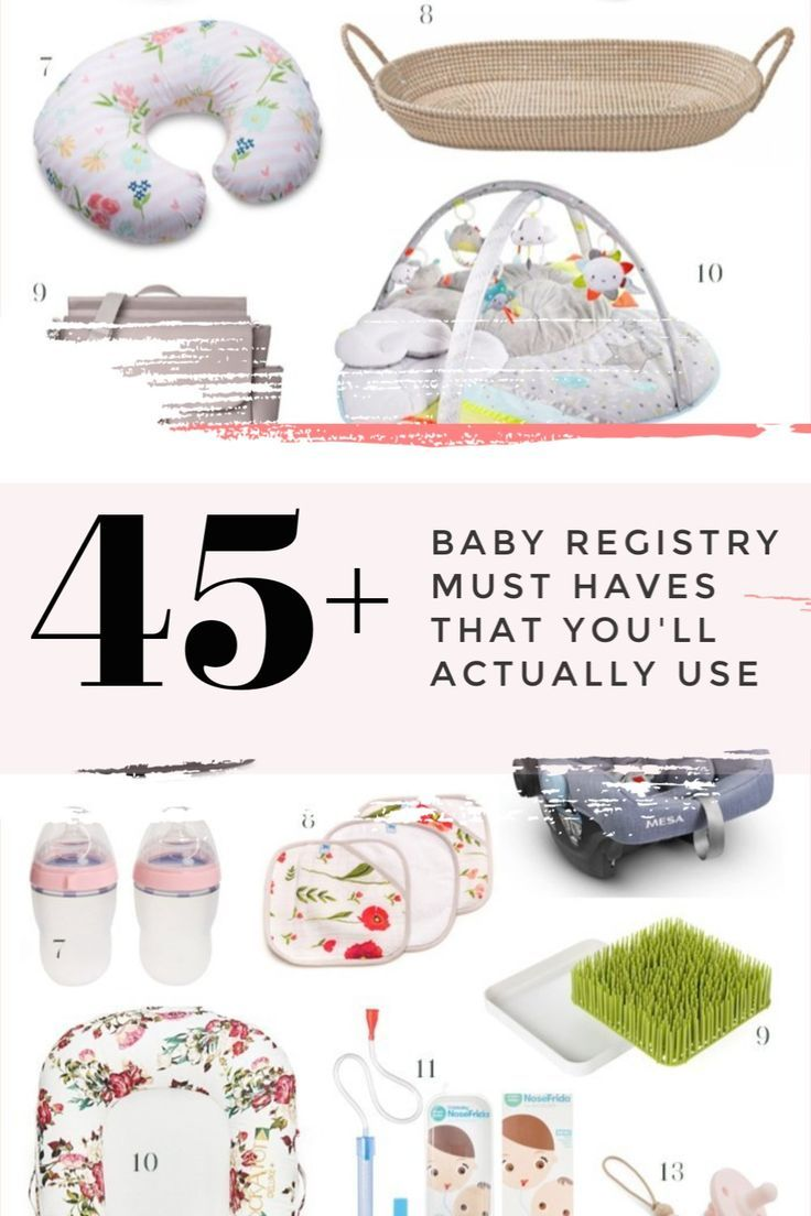 50 Baby Registry Must Haves that I Actually Used | Baby ...