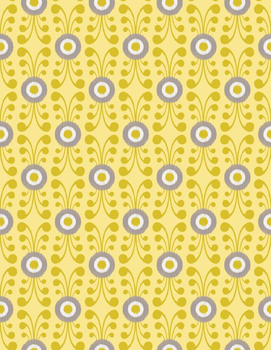 Multi Color, Slate, Taupe, Yellow, Aqua, Purple, Teal, Gray, Ikat, Sketch, Circles, Dots, Polka Dots, Scroll, Floral