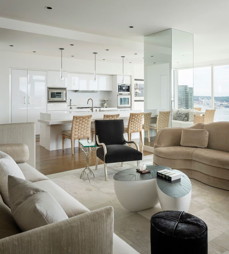White Wash By Christian Grevstad. Living Room KitchenCondo ... Part 59