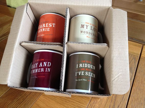 The latest additions in the songlines theme. A full compliment of mugs and fab they look too!  Please note: We cannot ship this item outside the UK.