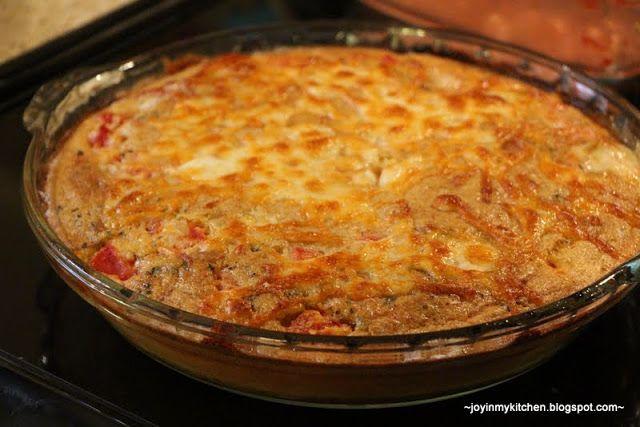 Finding Joy in My Kitchen: Italian Chicken Pie