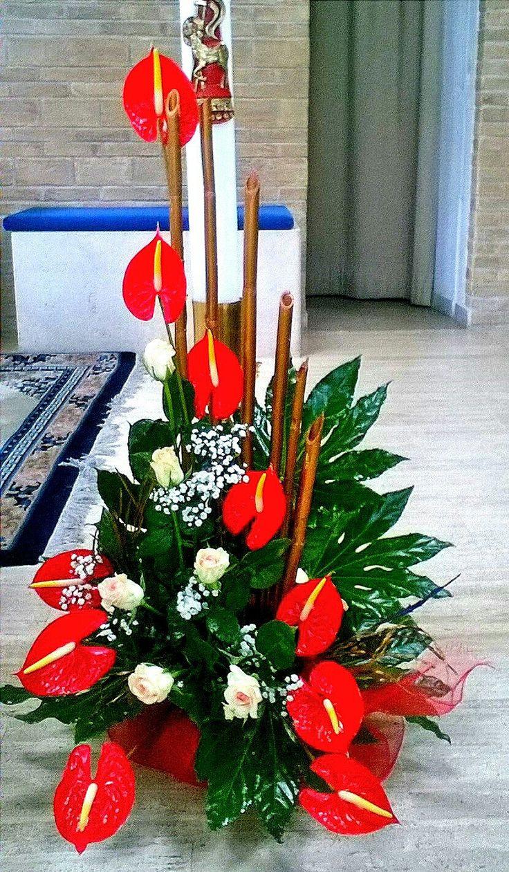 Color art floral wonders -  Church Flower Arrangements Church Flowers Funeral Flowers Tropical Flowers Corporate Flowers Christmas Flowers Art Floral Floral Design
