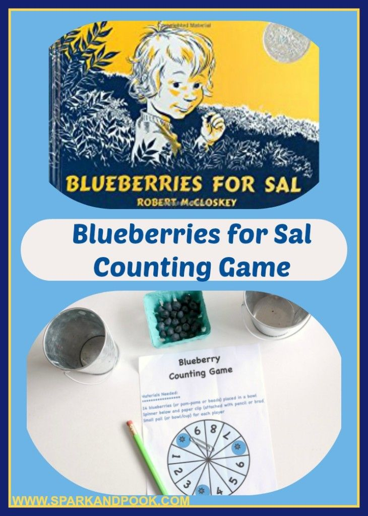 Blueberries for Sal counting game