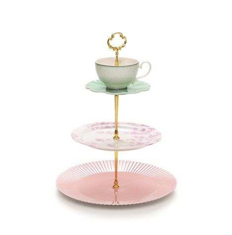 Salt & Pepper Eclectic 3 Tier Cake Stand. Organising a kitchen tea or baby shower? You need of Salt&Pepper's new 3 tier cake stand from their ECLECTIC range.  Now in store! @saltandpepperhome #saltandpepperhome  https://www.kambos.com.au/s-p-eclectic-3-tier-cake-stand.html