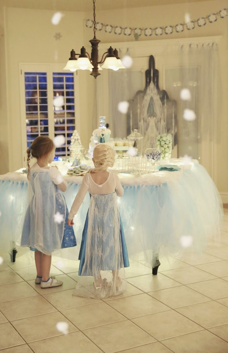 Great Inspiration Ideas for a Disney Frozen Party⭐⭐Fête d'Anniversaire La Reine des Neiges