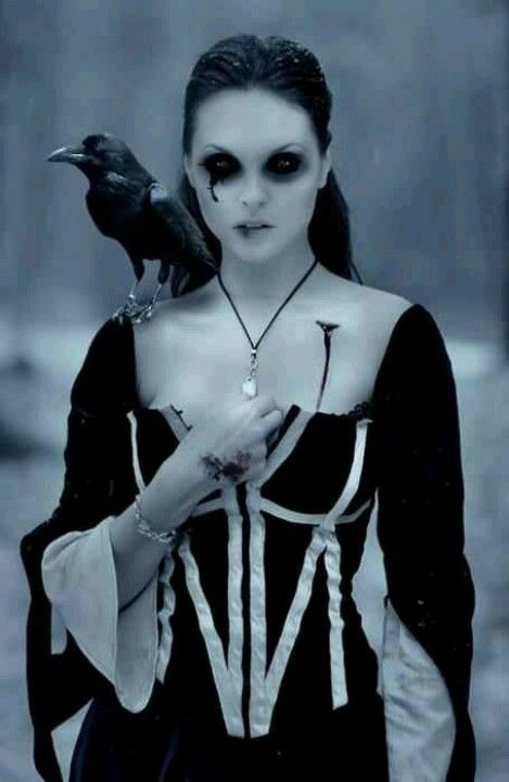 """In Irish mythology, the Badb or Badhbh—meaning """"crow""""—is a war goddess who takes the form of a crow, and is thus sometimes known as Badb Catha (""""battle crow""""). She is known to cause fear and confusion among soldiers to move the tide of battle to her favoured side. Badb may also appear prior to a battle to foreshadow the extent of the carnage to come, or to predict the death of a notable person."""