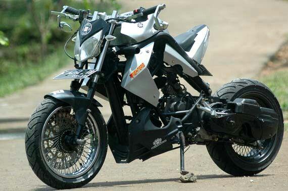 Yamaha Mio 110cc Sg88 Custom Bike Pinterest Custom Bikes