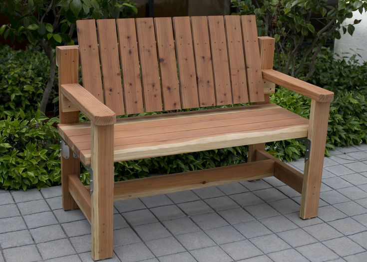 Diy garden bench preview diy done right home projects for D i y garden bench designs
