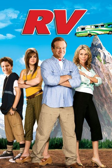 The late Robin Williams charmed his way through one road trip disaster after another in this 2006 comedy. He plays a busy executive who drags his family to a business meeting in an RV and calls it a vacation.