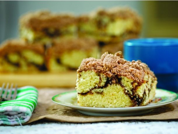 Coffee cake - the crumb is the best part!