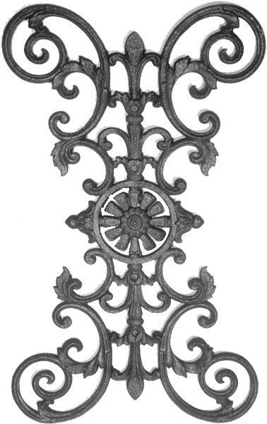 Cast Iron Railing Parts Cast Iron Fence Panels Amp Parts