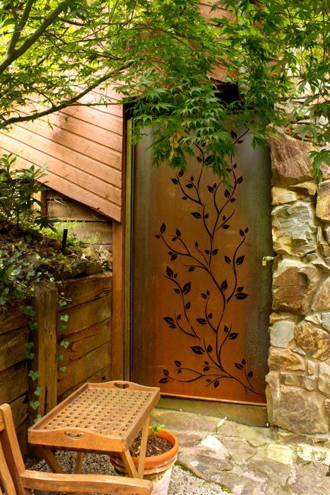 1000 Ideas About Metal Fence Panels On Pinterest Metal