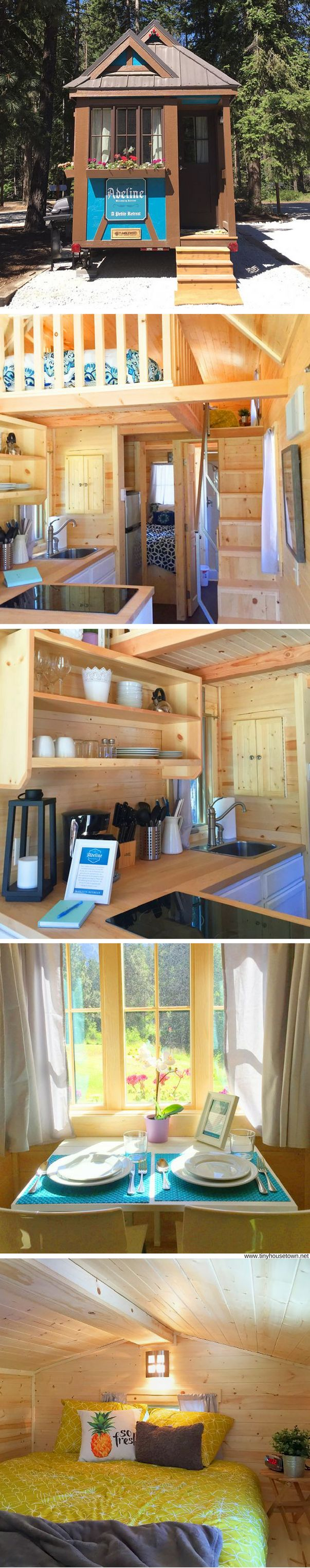 Adeline: a tiny house retreat at the Leavenworth RV Resort