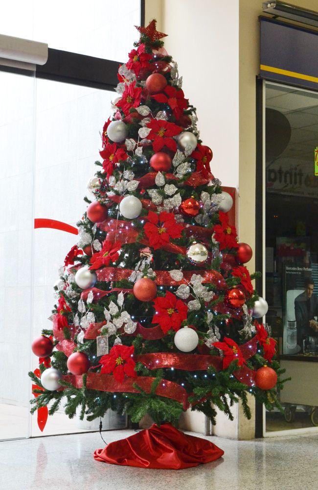1000 images about rbol de navidad on pinterest navidad silver ornaments and christmas trees - Como decorar un arbol de navidad ...