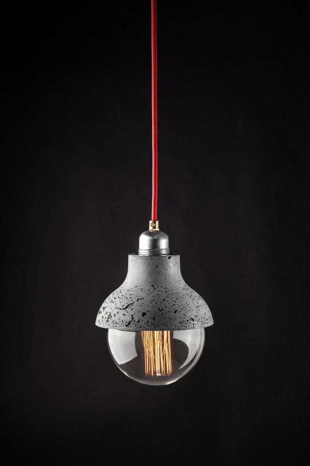 M422 - concrete lamp