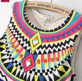 Sunrise Tribal Maxi Dress