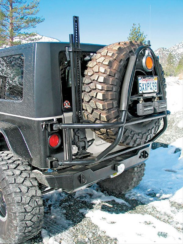 Tire Carrier - Photo 20 - 2007 Jeep Wrangler JK X Model Buildup - Straight To Ridiculous