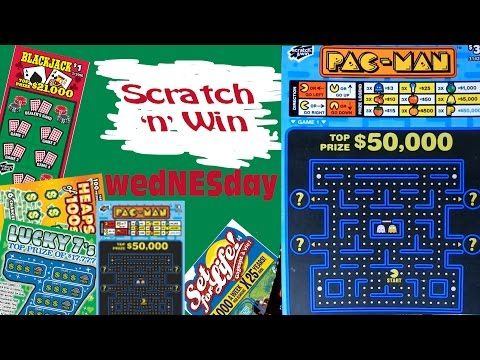Scratch n Win wedNESday Pac Man - YouTube