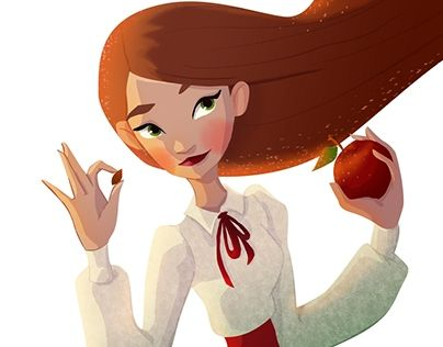 """Check out new work on my @Behance portfolio: """"Apple"""" http://be.net/gallery/55298855/Apple"""