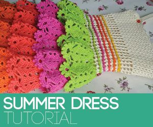 Three Cute Summer Top Patterns | Beautiful Crochet Stuff