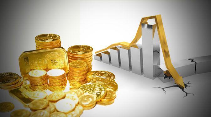 Harga+Emas+Berjangka+Turun++0,03+%+Tertekan+Penguatan+Dollar+AS