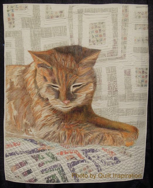 263 best Cat Quilts images on Pinterest | Cat quilt, Cats and ... : quilting cats - Adamdwight.com