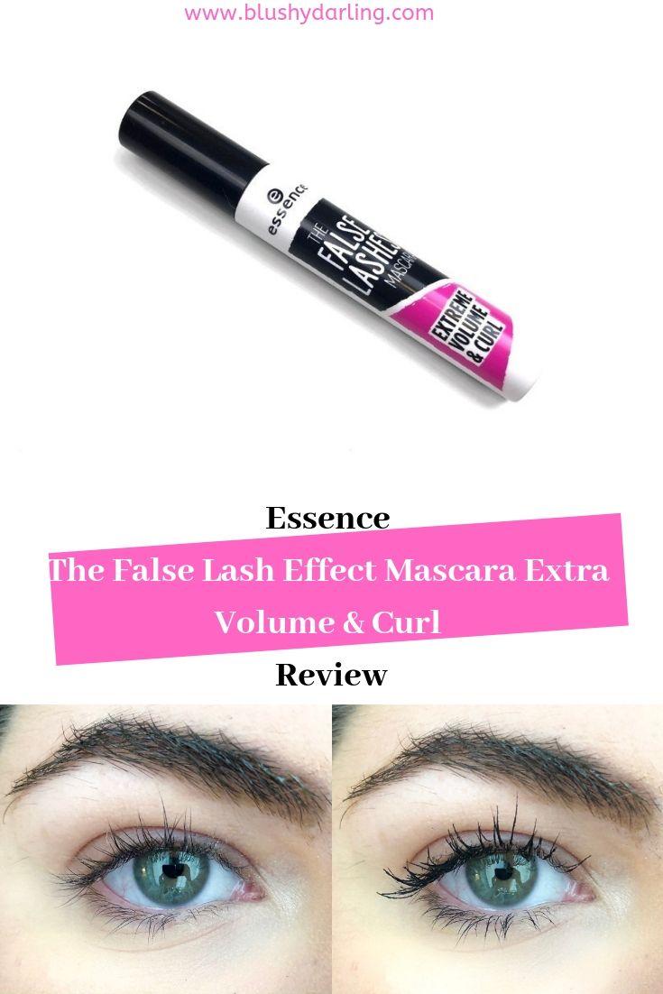f63b052f0aa Essence The False Lash Effect Mascara Extra Volume & Curl Review #makeup  #beauty #blogger