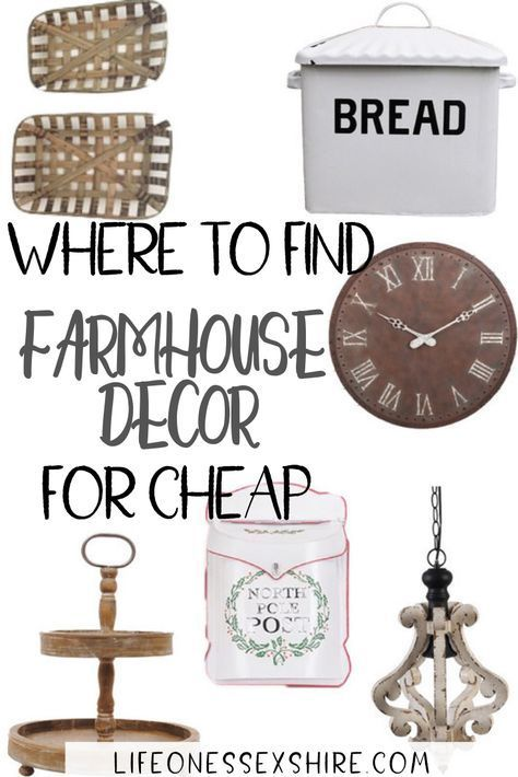 The 5 Best Websites for Farmhouse Decor on a Budge…