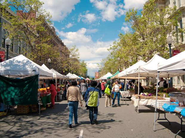 Oakland ranks #4 of 9 as The Best Farmers' Markets In the U.S. - Condé Nast Traveler