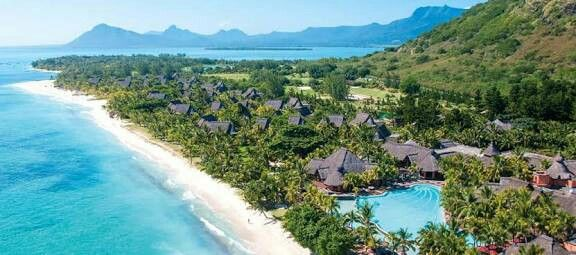 """""""Suite sensation at the foot of the Le Morne Mountain"""", one of the most spectacular locations in Mauritius. This all-suite resort will capture your heart from the minute you arrive. .... . . .    #Dinarobin #Mauritius #Beachcomber #luxuryhotel #luxurytravel #viptravel #instatravel #suite #villas #exclusive  #private #viptreatment #catamaran #fivestar #scuba #golf #golfers"""