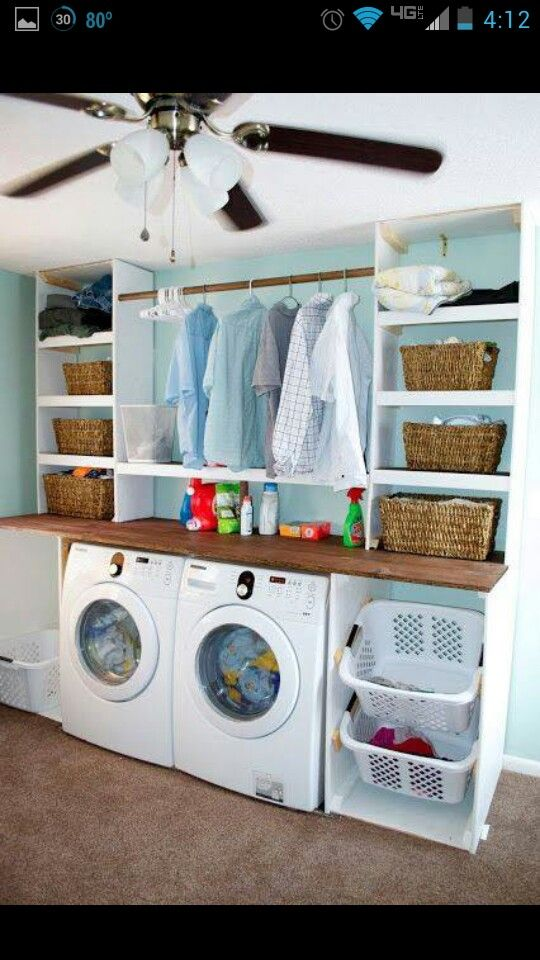 Ideas For Small Laundry Rooms