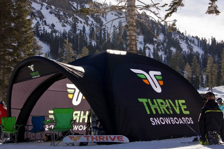 Thrive Snowboards | X-GLOO 5x5 with Canopy and Side Walls