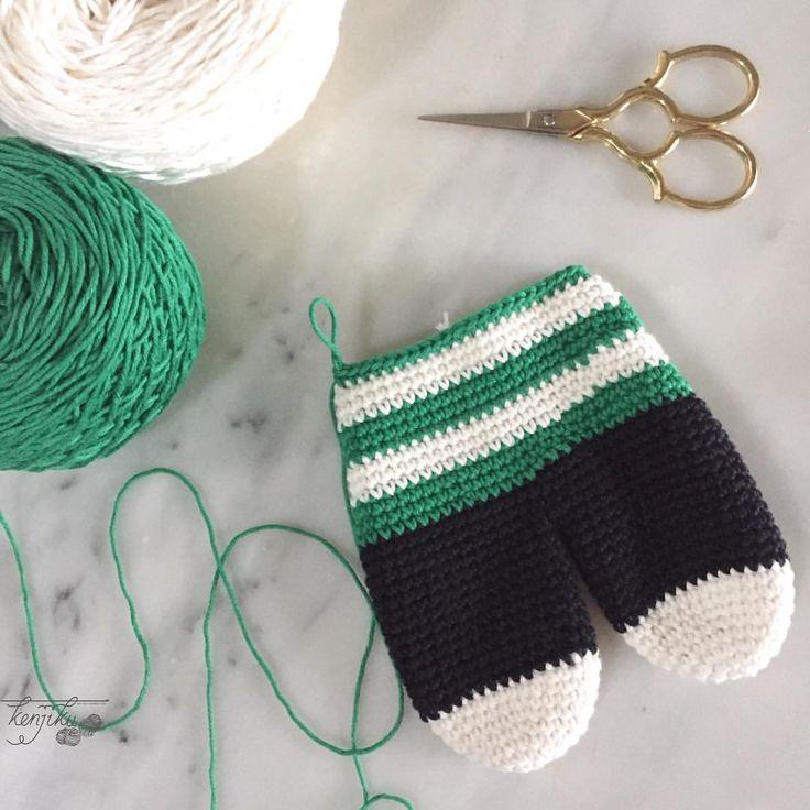"73 Likes, 4 Comments - KenJiKu - let the crochet talk (@kenjiku_) on Instagram: ""Working stripe as the homework during this very long holiday ✨ . . . . . . #kenjiku_…"""
