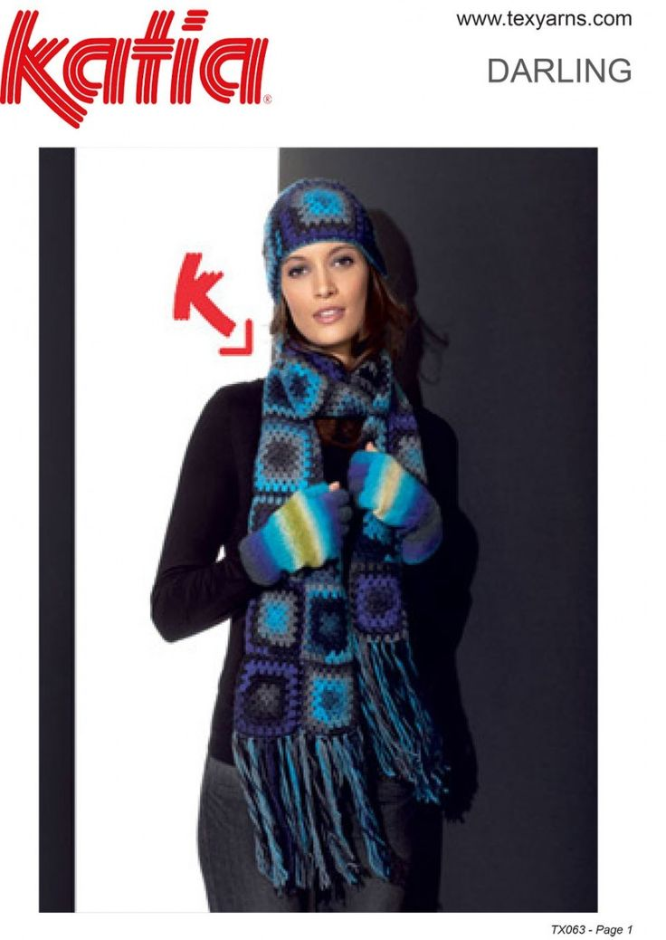 Found this hand knitted yarn at http://www.texyarns.com/darling-hat-scarf/