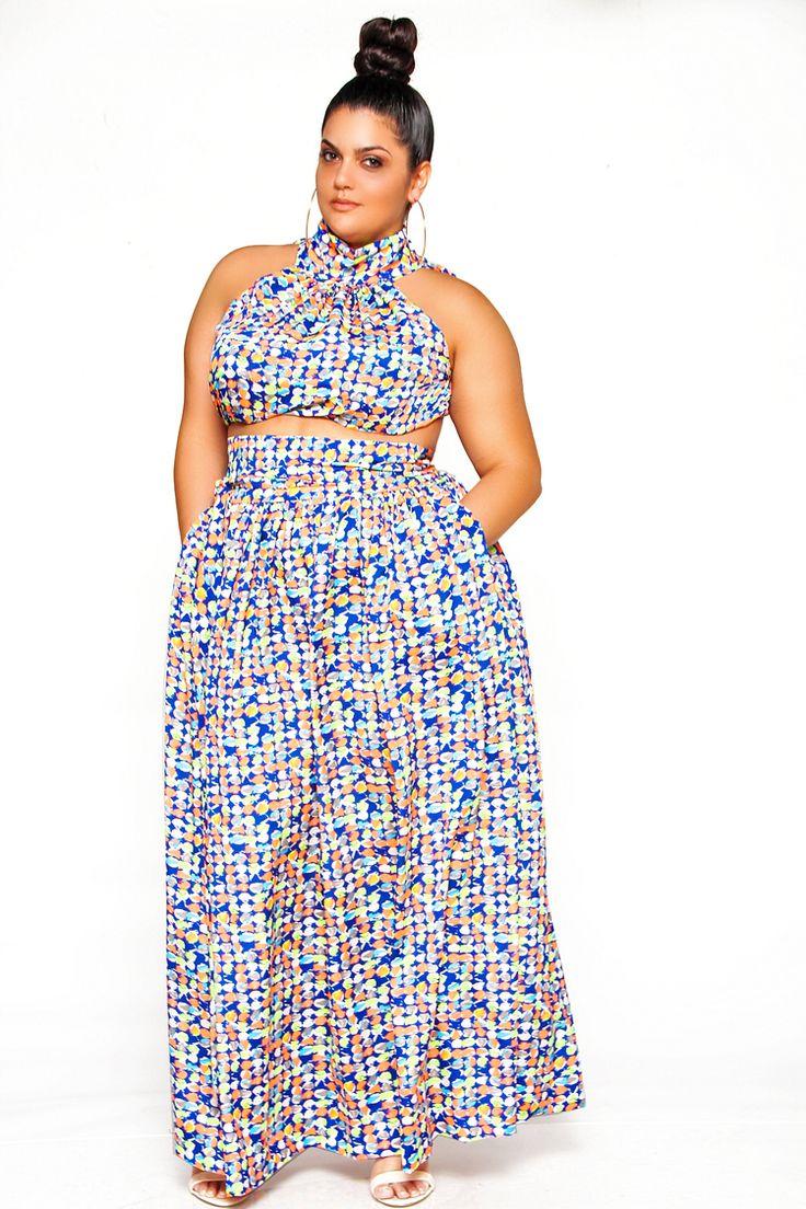 Summer dresses 2018 plus size