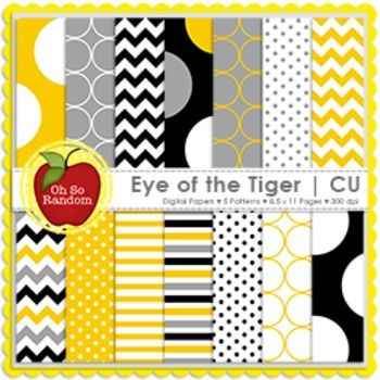 """FREE Here in the south, we love a good compliment. More love = more freebies! 8.5"""" x 11"""" high resolution digital papers. Each sheet is a 300 DPI image which is great for printing. * 60 digital papers* Paper color combinations of black, yellow, gray and white* 5 Paper patterns include chevron, small polka dots, stripes and jumbo dots* Commercial Use* Zipped file Be sure to check out my site for more freebies, links, and id..."""