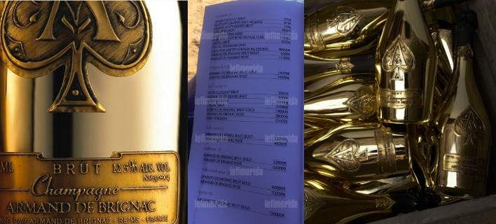 Η ΜΟΝΑΞΙΑ ΤΗΣ ΑΛΗΘΕΙΑΣ: Η Ελλαδα της ξεφτΙλας....Σαμπάνια 120.000 ευρώ σερ...